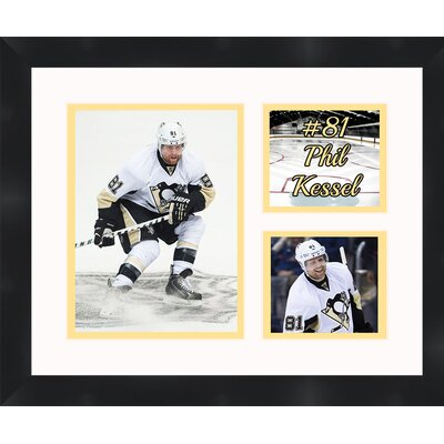 Pittsburgh Penguins Phil Kessel 81 Photo Collage Framed Photographic Print TP03-10-00-HKY81PK2