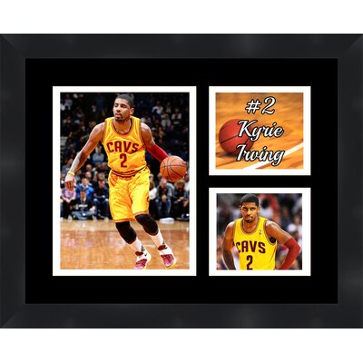 'Kyrie Irving' Framed Photographic Print Matte Trim Color: White, Matte Color: Black TP03-11-00-NBA2KI