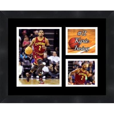 'Kyrie Irving' Framed Photographic Print Matte Trim Color: White, Matte Color: Black TP03-11-00-NBA2KI3