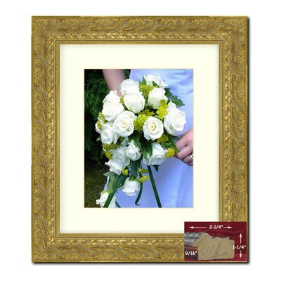 Gold Wood Picture Frame Size: 16
