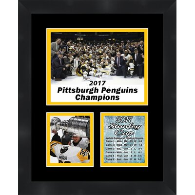 'Matt Murray Pittsburgh Penguins 2017 Stanley Cup' Framed Photographic Print TP04-11-00-PITTS20171