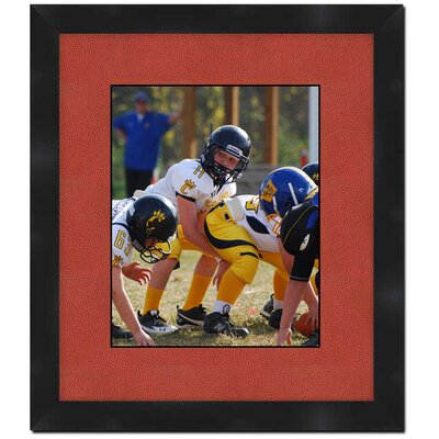 Wall Picture Frame with Football Textured Matte 214Aaamb62101-1114