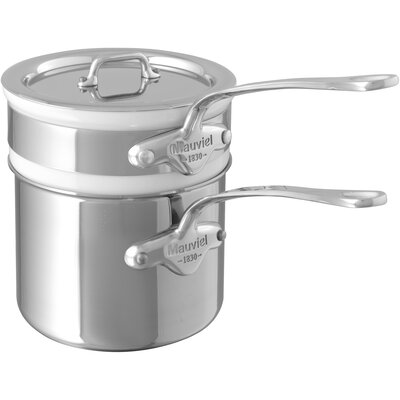 M'cook 1.6-qt. Double Boiler with Lid 5204.14