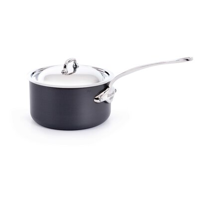 Mstone2 Sauce Pan With Lid And 6.2 Cast Stainless Steel Handle