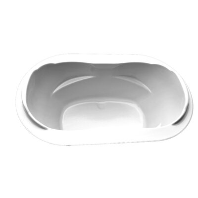 73 x 42 Drop-In Salon Spa Soaking Tub Finish: White, Motor Location: Left, Chromatherapy Light: No