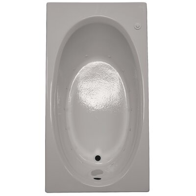 60 x 32 Air Bathtub Finish: Biscuit, Drain Location: Right