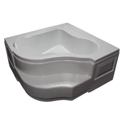 60 x 60 Soaking Bathtub Finish: White