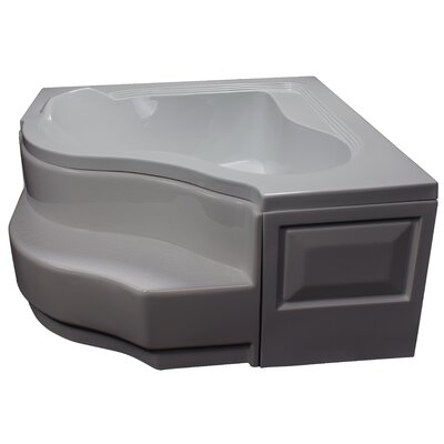 60 x 60 Soaking Bathtub Finish: Biscuit