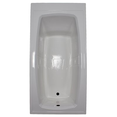 72 x 36 Soaking Bathtub Finish: White