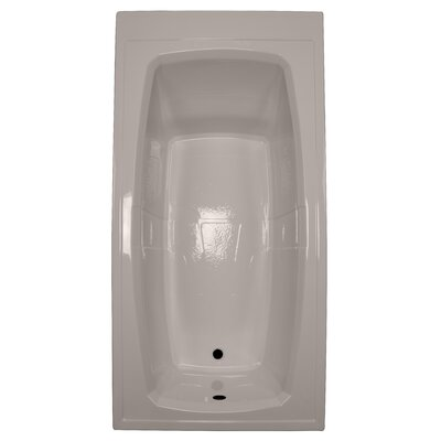 72 x 36 Soaking Bathtub Finish: Bone