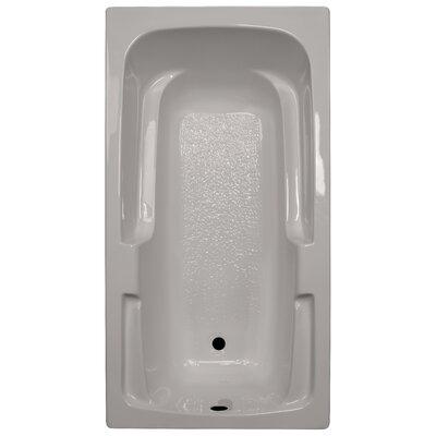 60 x 32 Soaker Arm-Rest Bathtub Finish: Biscuit