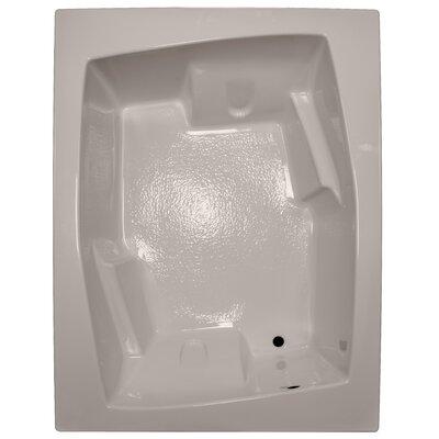 72 x 54 Soaker Arm-Rest Bathtub Finish: Bone