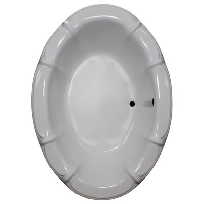 68 x 48 Soaking Bathtub Finish: White
