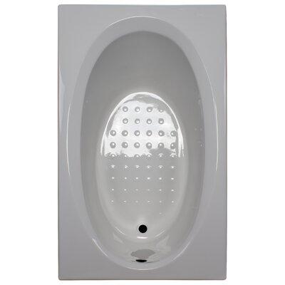 60 x 36 Soaker Bathtub Finish: White