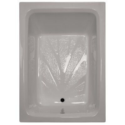 60 x 42 Soaker Rectangular Bathtub Finish: Biscuit
