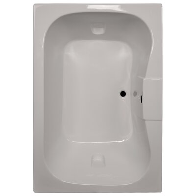60 x 42 Soaker Bathtub Finish: Biscuit