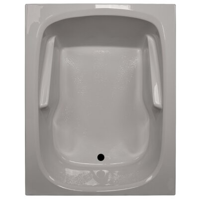 60 x 48 Soaker Arm-Rest Bathtub Finish: Biscuit
