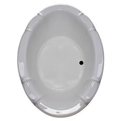 79 x 57 Soaker Drop-In Bathtub Finish: White