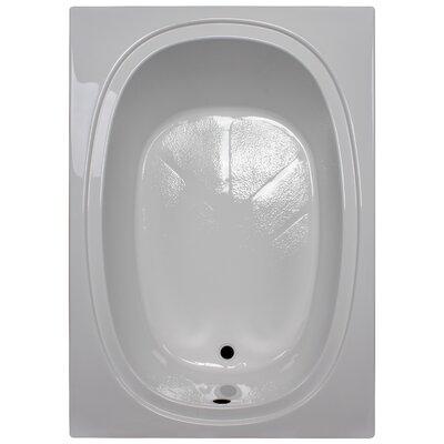 60 x 42 Soaking Bathtub Finish: White