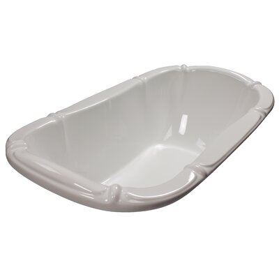 69 x 39 Soaking Bathtub Finish: White