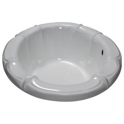 68 x 48 Soaking Bathtub Finish: White