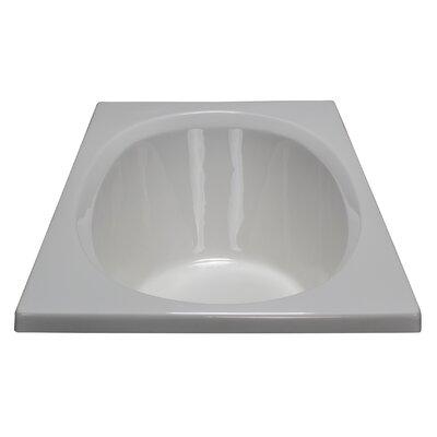60 x 32 Soaking Bathtub Finish: White