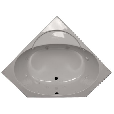 48 x 48 Corner Soaking Tub Finish: Biscuit