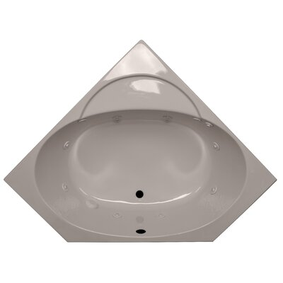 48 x 48 Corner Soaking Tub Finish: Bone