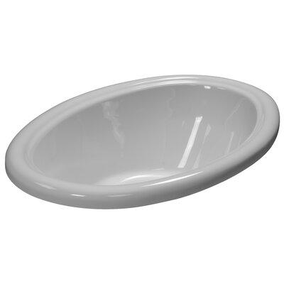 58 x 39 Soaking Bathtub Finish: White