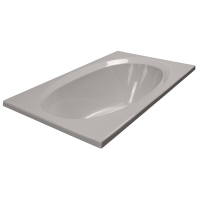 60 x 36 Soaker Bathtub Finish: Biscuit