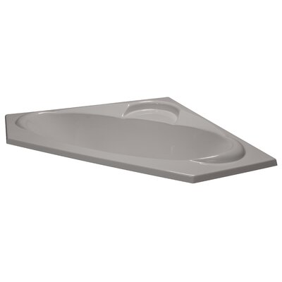 60 x 60 Soaker Corner Bathtub Finish: Biscuit