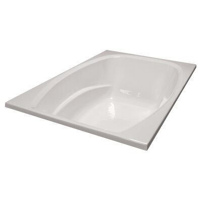 72 x 48 Soaker Bathtub Finish: Biscuit