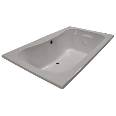 72 x 42 Soaker Rectangular Bathtub Finish: Biscuit