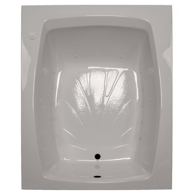 60 x 48 Air Tub Finish: Biscuit, Drain Location: Right
