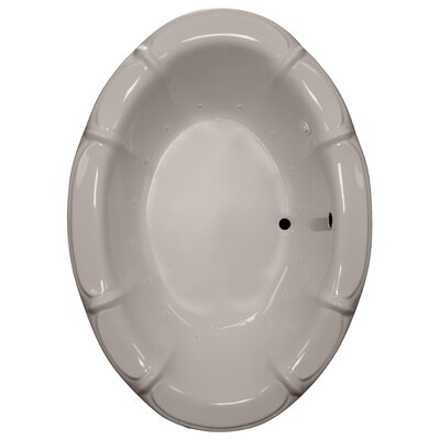 68 x 48 Air Bathtub Finish: Bone, Motor Location: Right