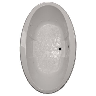 72 x 45 Drop-In Air Tub Finish: Biscuit, Motor Location: Right
