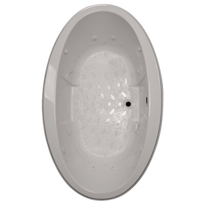72 x 45 Drop-In Salon Spa Air/Whirlpool Tub Finish: Biscuit, Motor Location: Left