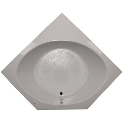 60 x 60 Corner Air Tub Finish: Biscuit, Motor Location: Left