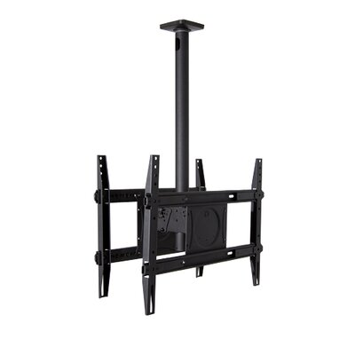 Dual Extending Arm/ Tilt Universal Ceiling Mount for 32 - 65 Screens