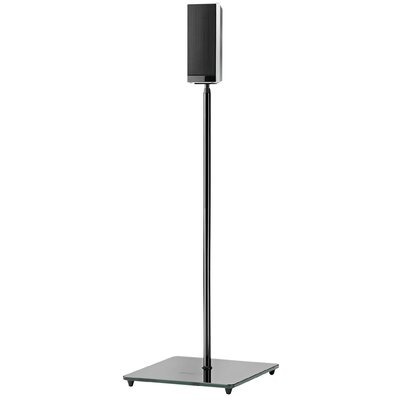 Elo Series Adjustable Height Speaker Stand Finish: Platinum