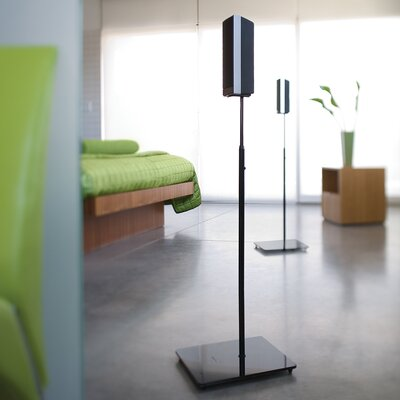 Elo Series Adjustable Height Speaker Stand Finish: High Gloss Black