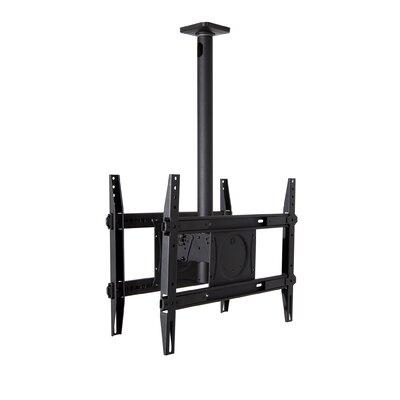 Dual Extending Arm/ Tilt Universal Ceiling Mount for 32 - 65 Screens