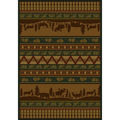 Marshfield Pine Valley Novelty Area Rug Rug Size: 710 x 106