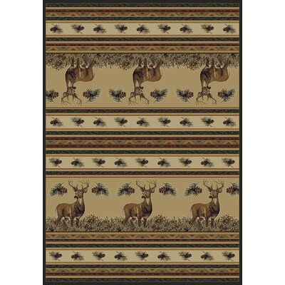 Marshfield Master Of The Meadow Novelty Area Rug Rug Size: 110 x 3