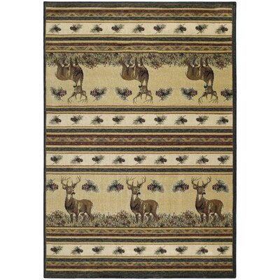 Marshfield Master Of The Meadow Novelty Area Rug Rug Size: 53 x 76
