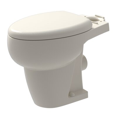 WaterSense Ceramic Rear Outlet 1.28 GPF Elongated Toilet Bowl Finish: Bisque