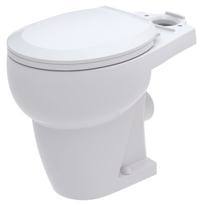 WaterSense Rear Outlet 1.28 GPF Round Toilet Bowl