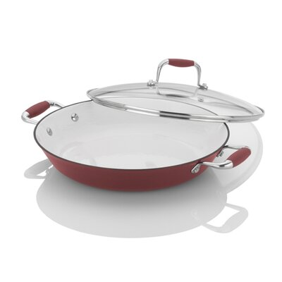 Michelle B Cast Iron Lites- Chef Pan In Red