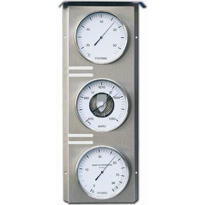 Außenwetterstation Skala | Baumarkt > Heizung und Klima > Klimageräte | Edelstahl | Fischer Barometer
