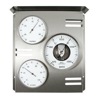 31cm x 275cm Außenwetterstation Skala   Baumarkt > Heizung und Klima > Klimageräte   Fischer Barometer